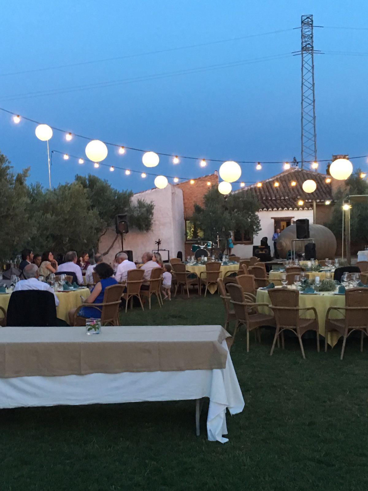 """Cena tipo catering, Complejo Turístico Rural""""El Romeral"""""""