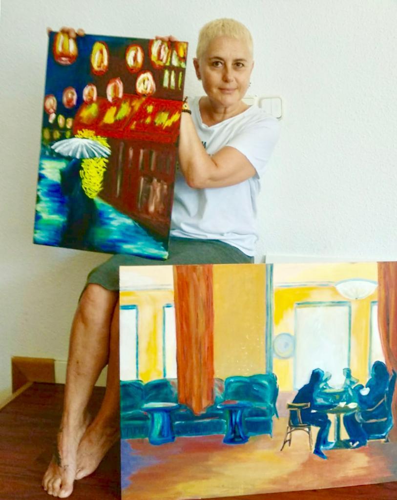 Eva García - Exposición de pintura